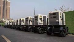 高原使用:30kw移动拖车柴油发电机
