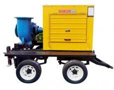 1500立方柴油抽水泵移动泵车