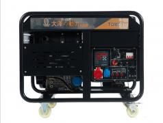 电启动10kw柴油发电机TO14000ET