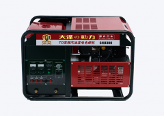 本田动力汽油发电电焊机